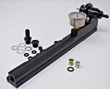 Fuel Pressure Regulator Gauge & Fuel Rail Fits All D-Series Honda Civic Crx Fr