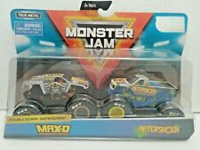 Max-D & Aftershock(Double Down Showdown) 2019 Spin Master Monster Jam 1:64 Scale