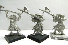OOP Citadel / Warhammer Chaos Metal Beastmen Bestigor With Halberds