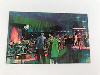 Vintage Las Vegas Sands Hotel Casino Postcard Celebrity Theater NV Nevada 1960's
