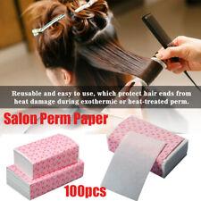 100pcs Disposable Salon Pro Salon Hair Dye Paper Dyeing Color Highlight Tissue~