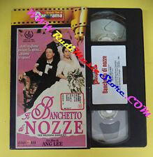 VHS film IL BANCHETTO DI NOZZE Ang Lee I GRANDI FILM DI PANORAMA (F70*) no dvd