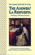 The Answer / La Respuesta, Including a Selection of Poems (A Feminist Press Sour