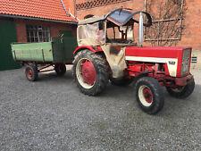 IHC 353 Schlepper, Trecker, Traktor mit Einachsanhänger (kein Kipper)