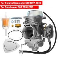 Carb Carburateur Carburatore Con Filtro Per Polaris Scrambler 500 1997-2009