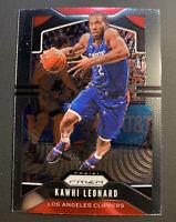 2019-20 Kawhi Leonard Prizm LA Clippers Panini Chronicles Update #505 Nice