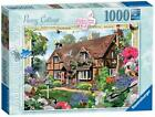 Ravensburger 19413 Cottage Collection Peony Cottage 1000 Piece Jigsaw Puzzle New