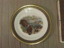 Boehm - Beavers - Woodland Wildlife Plate - Lennox Usa