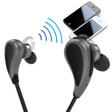 Stereo In-Ear Bluetooth Headset Earbud Earphone For Workout Gym Cycling 1 Touch
