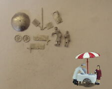 P&D Marsh OO Gauge PW78 Ice cream cart & figures kit requires painting