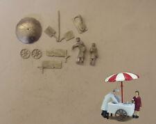 P&D Marsh OO Gauge PW78 Ice cream cart & figures kit requires painting