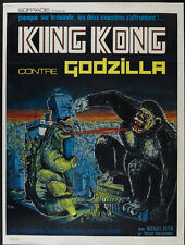 King Kong Vs Godzilla (1962) horror cult movie poster 24x32 inches approx.