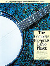 The Complete Bluegrass Banjo Player Music Book CD EASY BEGINNER READ TAB PICKING