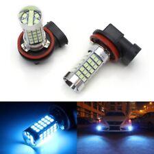 10000K Ice Blue 68-SMD H11 H8 LED Light Bulbs For Fog Lights Driving Lamps