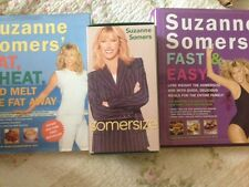 Suzanne Somers SOMERSIZE, Eat Cheat, and Melt the Fat Away, and Fast