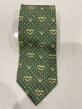 Beautiful Vintage EUC Green Medusa Gianni Versace Tie-Italy 100% Silk