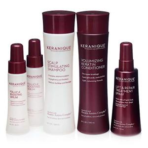 Keranique Thicker, Fuller Hair Kit – 60 Days   Shampoo, Conditioner,