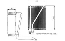 Clima radiador condensador aire acondicionado Ford S-Max 2006-7g9119710ac 7g9119710fa