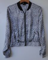 SPARKLE & FADE Jacket/Blouse Women's Urban Outfitters Grey Black Size-M