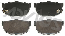 Disc Brake Pad Set-Base Rear ADVICS AD0323