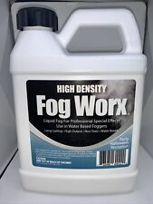 FogWorx Extreme High Density Fog Juice - Long Lasting High Output Odorless Fog