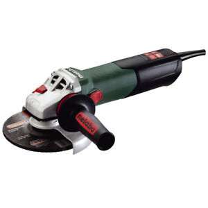 """Metabo WE15-150 Quick 13.5A 6"""" Grinder w/ TC & Lock-On Switch 600464420 New"""