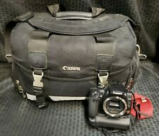 Canon EOS Digital Rebel XTI DS126151 Body Only No Lens Mount Cover w/ Carry Bag