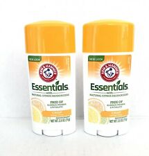 Arm Hammer Essentials Natural Deodorant Fresh 2.5 oz Crisp Orange Citrus 2 Pack