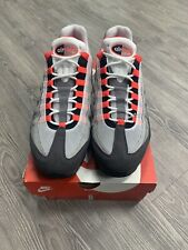 Nike Air Max 95 OG White Solar Red Granite Dust Size 13 AT2865-100