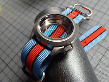 XULU 5 RINGS BALISTIC NYLON STRAP CAFE.RACER.ONE FOR MOD.SEIKO OR BOSTOK ST-04