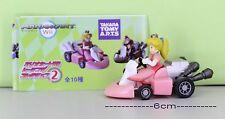 Super Mario Bros Figure 6cm Pull Back Car PRINCESS PEACH