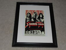 "Framed This is Spinal Tap 1984 Mini Poster, Alternate USA Print 14""x17"""