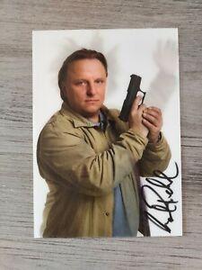 AXEL PRAHL 3D Autogrammkarte Tatort Münster ARD WDR original signiert SELTEN