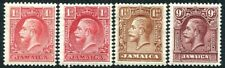 JAMAICA-1929-32 Set to 9d Including both 1d Dies Sg 108-110/108a MOUNTED MINT
