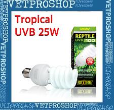 Exo Terra REPTILE UVB100 25W Repti Glo 5 Compact Fluorescent Tropical
