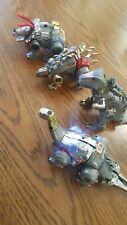 Transformers G1 Dinobots Lot Loose Grimlock Snarl Sludge Slag