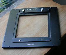 S & K view camera 175 mm quadrato adattatore lens board per pannello 115 mm