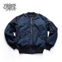 Bronson L-2B Flight Jacket Vintage Flying Lightweight Men's Military Windbreaker