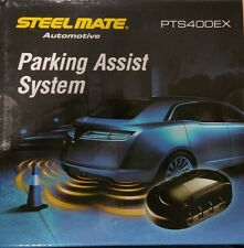 Steelmate PTS400EX 4 Head Rear parking Sensor Kit Silver, Gloss or Matt Black