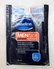 Vaseline for Men Face ANTISPOT WHITENING Oil Control and MOISTURISER Sachets 8g