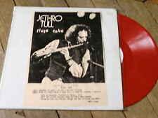 JETHRO TULL Flute cake LP Vynil Couleur Live Anaheim 72 MEGA RARE
