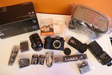 PANASONIC DC-G9L Lumix G 4K UHD + Vario-Elmarit LEICA 12-60 f2.8 Lens + EXTRAS