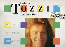 UMBERTO TOZZI disco LP 33 g. HITS HITS HITS  Made in GERMANY 1983 stampa TEDESCA