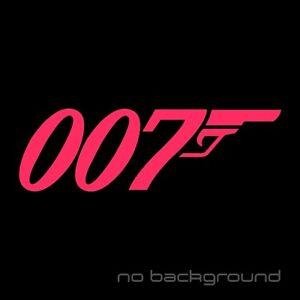 007 James Bond Sticker Vinyl Decal Gun Wall Car Window Truck Bumper Auto Laptop