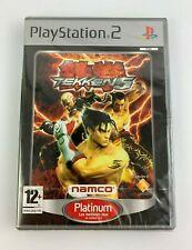 PS2 Tekken 5 Platinum, French Version, Brand New & Factory Sealed