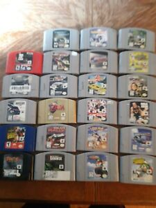 Nintendo 64 Games Lot
