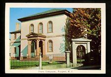 Judaica postcard Touro Synagogue, Newport, Rhode Island RI chrome