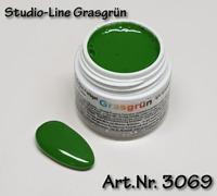 5 ml  Studio-Line UV Farbgel, Pure Color, Farbe: Grasgrün, Nr. 3069
