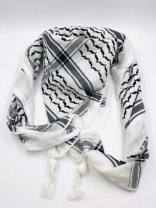 Palestine Original Hirbawi ® Palestinian Shemagh/Keffiyeh/Gray/Scarf/Kufiya