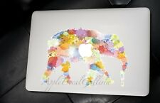 Elephant Decal Sticker Skin Decals Stickers for Macbook Pro Air 13 15 17 inch EL